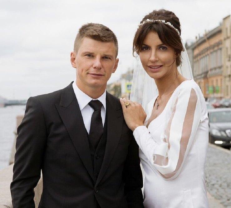 Андрей иАлиса Аршавины вдень свадьбы