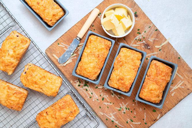 Рецепт сырных сконов