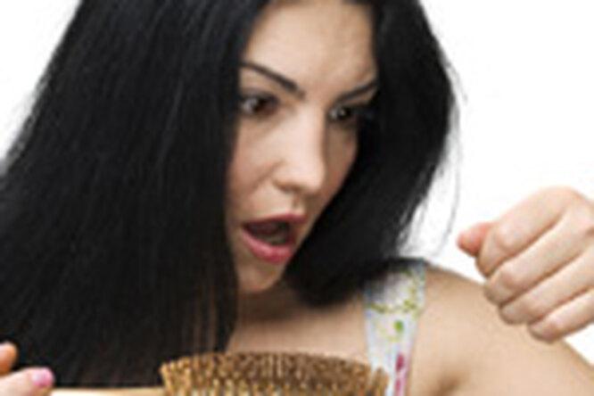 Развод приводит квыпадению волос