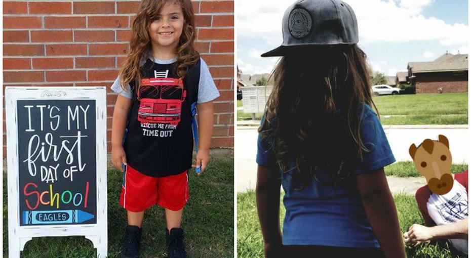 «Я просто хотела, чтобы он учился!». 4-летнего мальчика выгнали изсада из-за слишком длинных волос