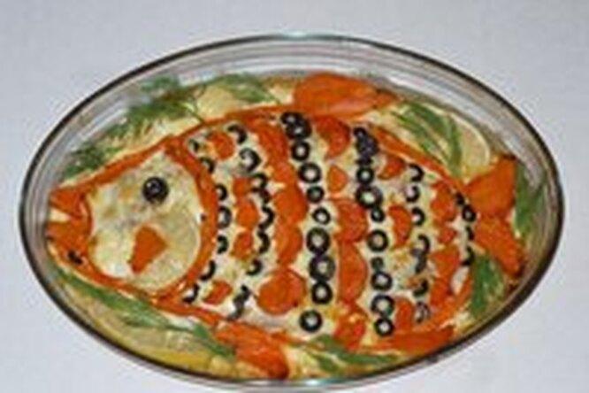 Рыба «в праздничном наряде»
