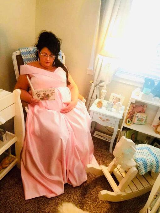 Шантель во время беременности