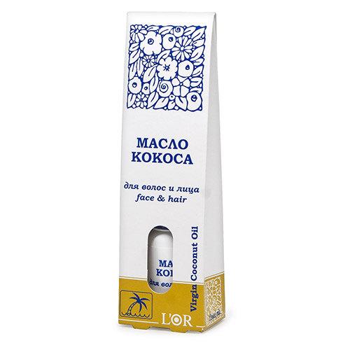 Масло кокоса для волос и лица, DNC, 95 руб
