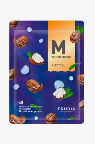 Увлажняющая тканевая маска с экстрактом масла ши, Frudia