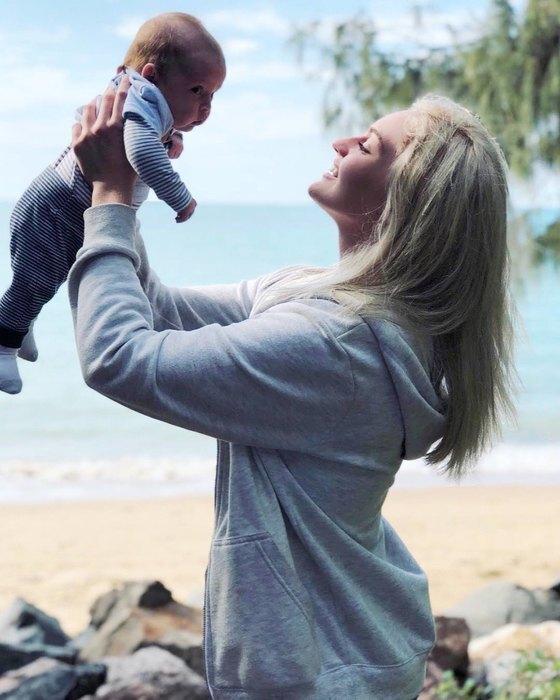 Джози Десгранд с сыном Чарли