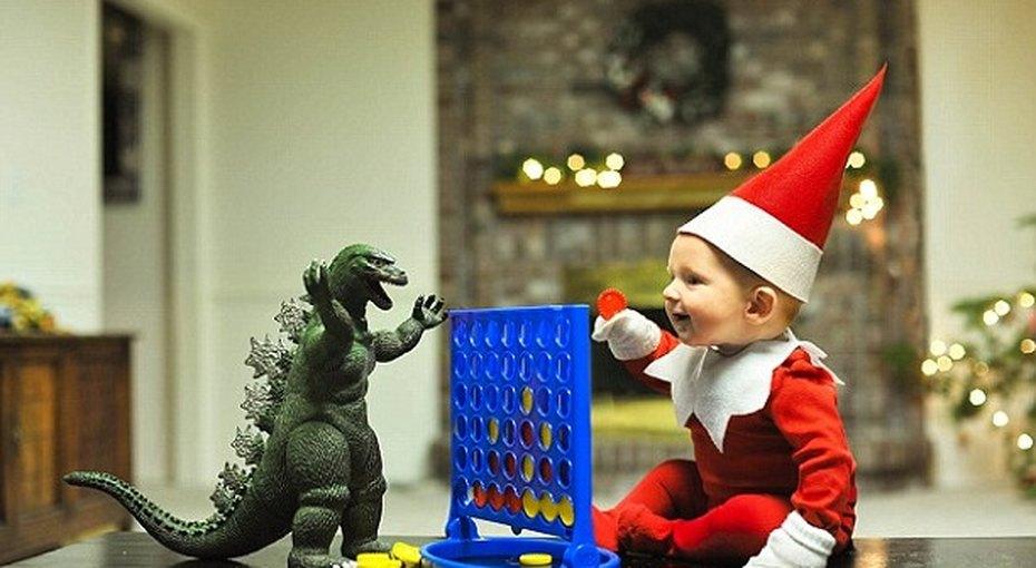 Фотографии малыша вкостюме рождественского эльфа покорили Сеть