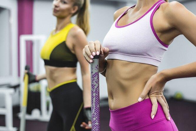 Женщины в спортзале