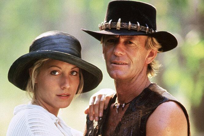 Как Данди Крокодил робел передЛиндой Козловски, но она оказалась «своим парнем»