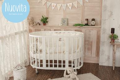 Новая кроватка-трансформер отитальянского бренда Nuovita