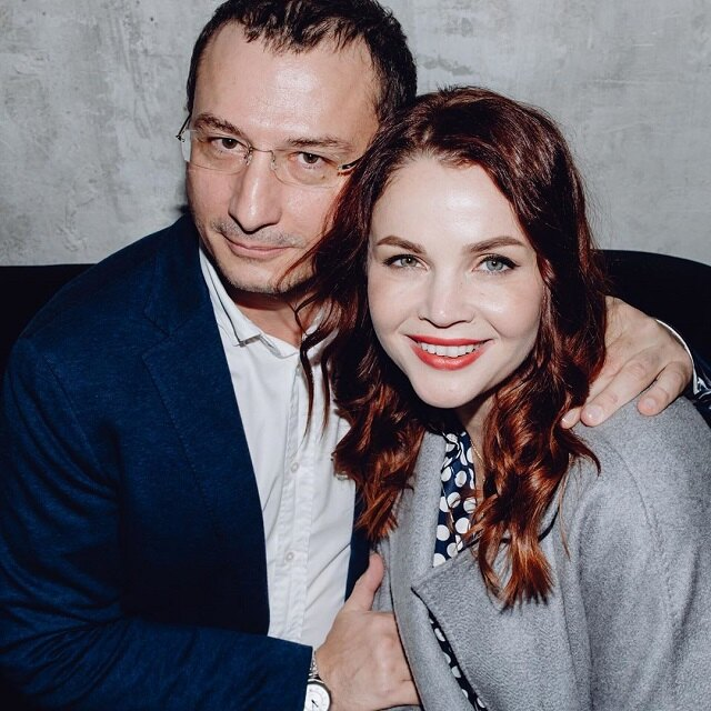 Екатерина Вуличенко с мужем