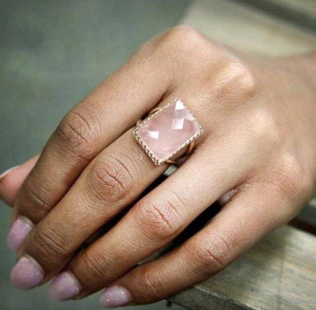 Кольцо с фианитом и кристаллом, Shart, 176 руб