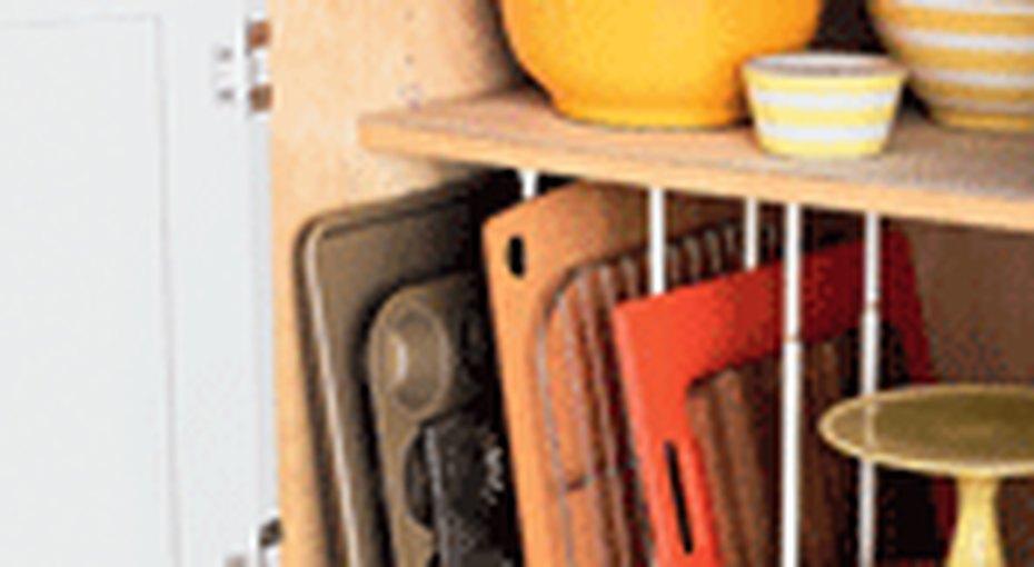 Организуем: кухонная посуда