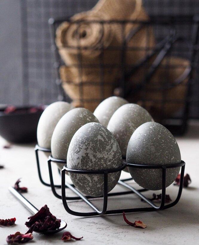 пасхальные яйца каркасе