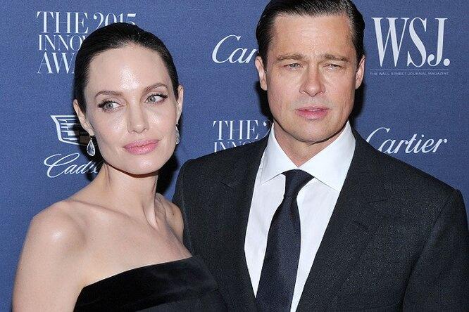 Новые подробности развода Анджелины Джоли иБрэда Питта