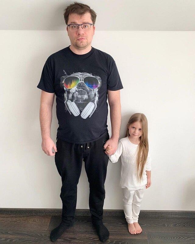 Гарик Харламов с дочерью