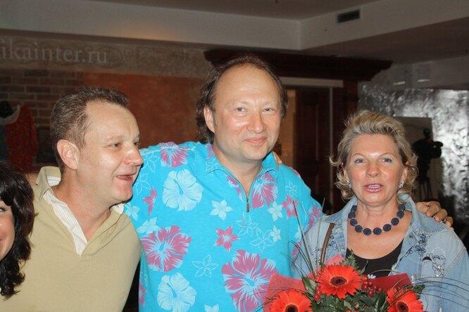 Ирина Ракшина с Юрием Гальцевым