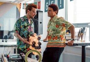 «Это бомба!» Козловский и Петров рассказали о работе над фильмом «Надвое»