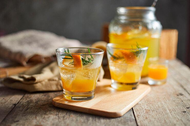 Освежающий напиток «Кровавый апельсин»