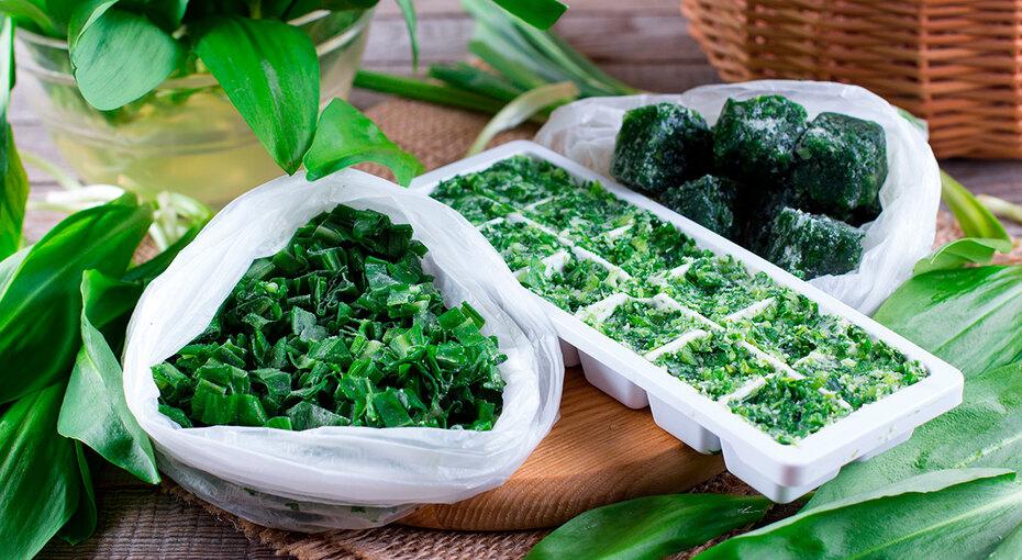 Как заморозить зелень, сохранив вней все витамины