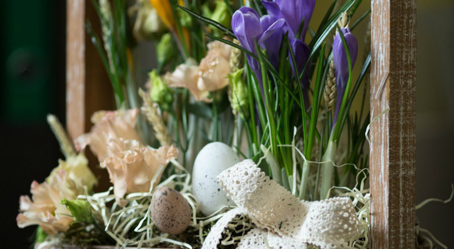 Пасхальный ящичек - непревзойденное украшение стола