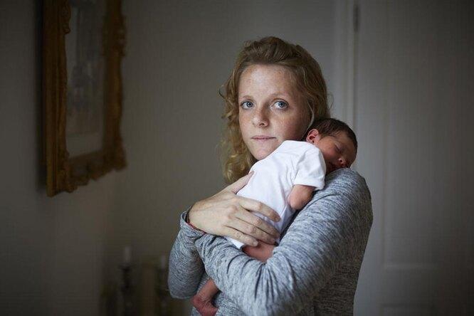 Первый день жизни. Фото новорожденных иих счастливых мам