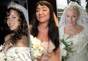 От сумочки до шляпки: как менялись образы звездных невест