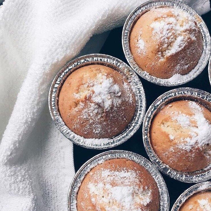 Вкуснешие творожные кексы к завтраку