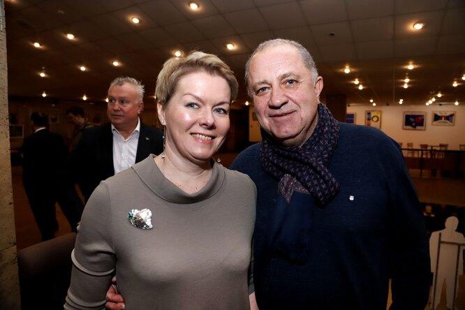 Владимир Стержаков с супругой