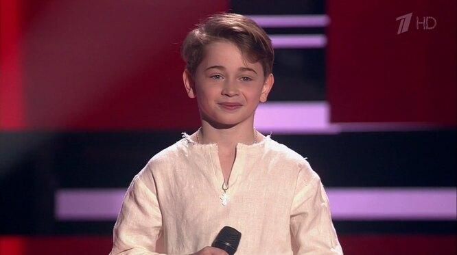 фото: кадр из шоу «Голос. Дети» на Первом канале