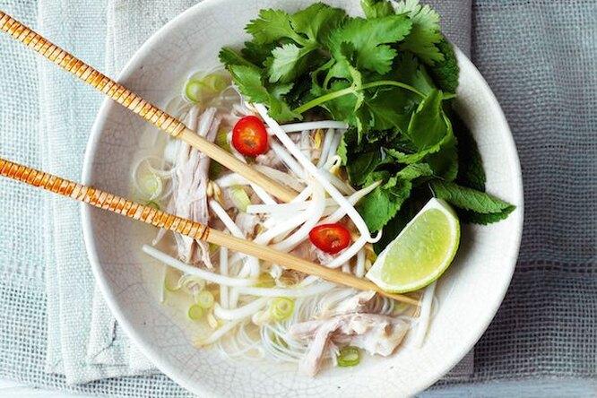 Вкуснейший вьетнамский суп Фо с курицей