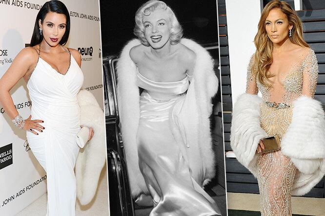 Стать Мэрилин  — Синди Кроуфорд, Кристина Агилера идругие звезды, «примерившие» образ роковой блондинки