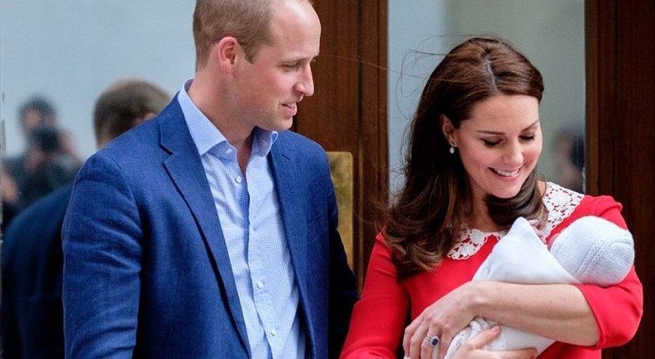 «Маленький принц»: опубликованы первые кадры новорожденного сына Кейт Миддлтон ипринца Уильяма