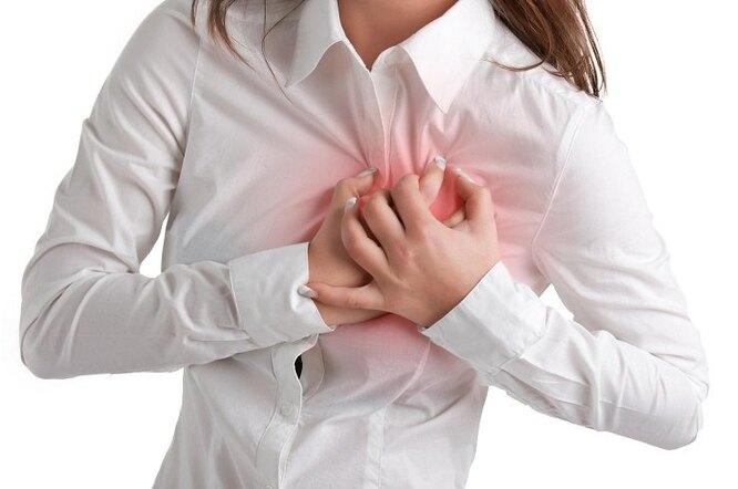 Учащённое сердцебиение у женщины, вред кофе