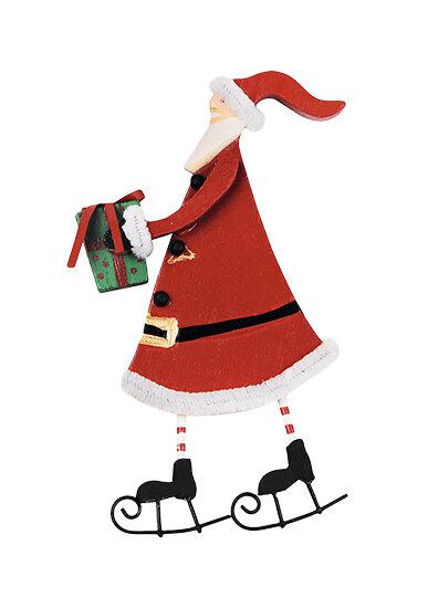 Фигурка «Санта» (дерево), Abert для Westwing.ru