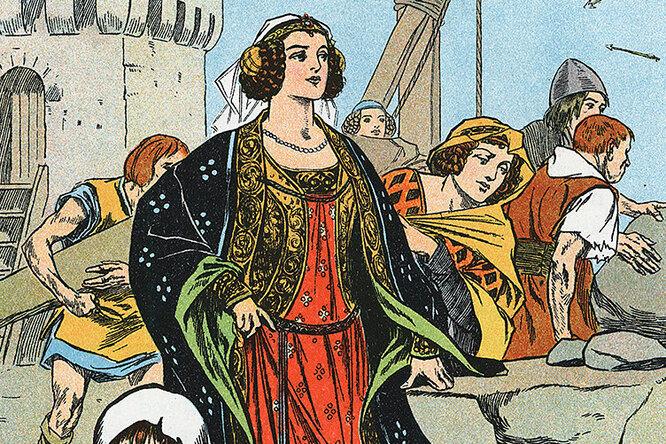 Защитницы замков Средневековья, или Что должна была уметь настоящая леди