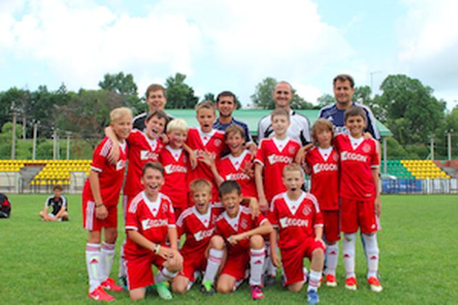 AJAX CAMPS — футбольный лагерь по‑голландски
