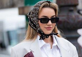 Аксессуары статуса: как сочетать шелковую косынку и очки в духе Джеки Кеннеди