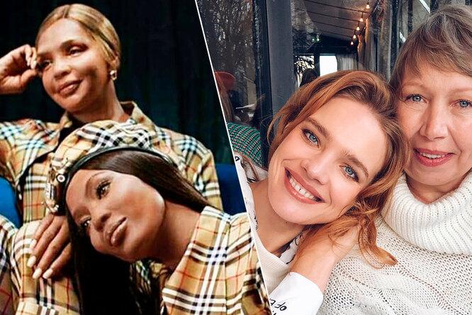 Яблочко отяблони: 10 красивых мам известных моделей