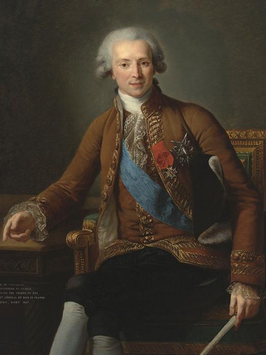 граф Франсуа де Водрёй, которого предположительно видели Шарлотта иЭлеанор