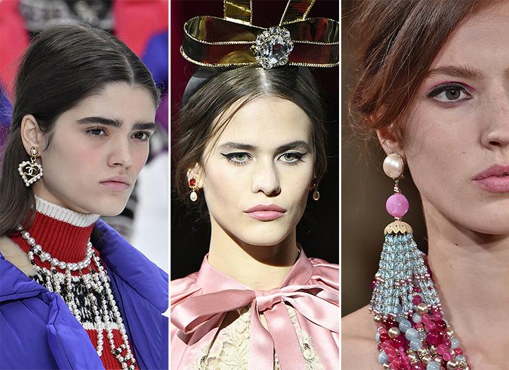 Chanel, осень-зима 2019 / Dolce & Gabbana, осень-зима 2019 / Armani, осень-зима 2019