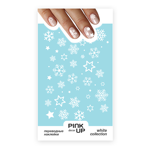 Наклейки дляногтей Pink Up, 99 руб. (Подружка)