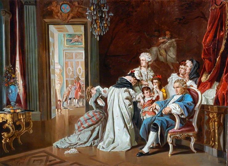 Людовик XIV икоролевская семья. Падение Версаля